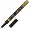 Pilot Creative Permanent Marker - Medium Point Type - 1 mm Point Size - Gold - Gold Barrel - 1 Each