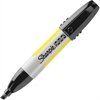 Sharpie Professional Markers - Chisel Point Style - Black - Rubber Barrel - 1 Each
