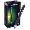 Uni-Ball Jetstream RT Pen - Bold Point Type - 1 mm Point Size - Refillable - Black Gel-based Ink - 1 Each