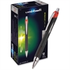 Uni-Ball Jetstream Rollerball Pen - Bold Point Type - 1 mm Point Size - Refillable - Red Gel-based Ink - 1 Each