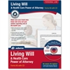 Adams Living Will & Power of Attorney for Health Care Kit - Legal Reference - 1 - PC, Intel-based Mac
