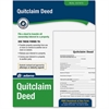 "Adams Quitclaim Deed - 1 Sheet(s) - 11"" x 8.50"" Sheet Size - 1 / Each"