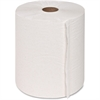 "Genuine Joe Hard Wound Roll Towel - 7.90"" x 800 ft - White - Absorbent, Chlorine-free - For Restroom - 6 / Carton"