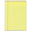 "TOPS Docket Wirebound Legal Writing Pad - 70 Sheets - Printed - Wire Bound - 16 lb Basis Weight - Letter 8.50"" x 11"" - Canary Paper - 3 / Pack"