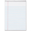 "TOPS Wirebound Legal Writing Pad - 70 Sheets - Printed - Wire Bound - 16 lb Basis Weight - Letter 8.50"" x 11"" - White Paper - 3 / Pack"