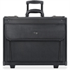 "Solo Classic Carrying Case (Roller) for 17"" Notebook - Black - Ballistic Poly, Polyester - Handle - 12.8"" Height x 18"" Width x 7"" Depth"