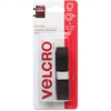 "Velcro General Purpose Sticky Back Tape - 0.75"" Width x 1.50 ft Length - Self-adhesive - 1 / Pack - Black"