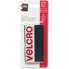 Velcro Heavy-Duty Hook and Loop Fastener - 6 / Pack - Black