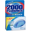 WD-40 2000 Flushes Toilet Bowl with Bleach & Blue Detergent - Tablet - 3.50 oz (0.22 lb) - 1 Each