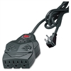 Fellowes Mighty 8 Surge Protector with Phone Protection - 8 x NEMA 5-15R - 1460 J - 110 V AC Input - 110 V AC Output