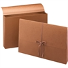 "Smead Redrope Expanding Wallets with Cloth Tape Tie - 10"" x 15"" Sheet Size - 3 1/2"" Expansion - Redrope, Tyvek - Recycled - 1 Each"