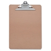"Sparco Clipboard - 9"" x 12.50"" - Hardboard - Brown"