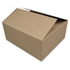 "Corrugated Shipping Carton - External Dimensions: 20"" Width x 12"" Depth x 8"" Height - Kraft - Recycled - 12 / Pack"