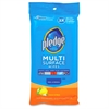 Multi Surface Cleaning Wipe - 25 / Pack - White