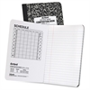 "Oxford Recycled Composition Book - 60 Sheets - Printed - 7.50"" x 9.75"" - White Paper - 1Each"