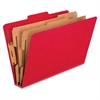 "Pendaflex Kraft Div. Pressbrd Classificatn Folders - 2"" Folder Capacity - Legal - 8 1/2"" x 14"" Sheet Size - 2"" Expansion - 6 Fastener(s) - 2"" Fastener Capacity, 1"" Fastener Capacity - 2/5 Tab Cut - 2"