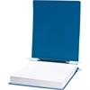 "® 23 pt. HIDE® Covers with Storage Hooks - 11"" x 14 7/8"" Sheet Size - 6"" Expansion - Pressboard - Blue - Recycled - 1 Each"