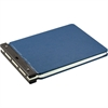 "Nomad Vinyl-Guarded Binder - 2"" Binder Capacity - 9 1/4"" x 11 7/8"" Sheet Size - 2"" Expansion - Post Fastener - Vinyl - Light Blue - 1 Each"