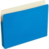 "ColorLife File Pocket - Letter - 8 1/2"" x 11"" Sheet Size - 3 1/2"" Expansion - 1 Pocket(s) - Light Blue - Recycled - 25 / Box"
