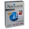 "Navigator Platinum Office Multipurpose Paper - Letter - 8.50"" x 11"" - 28 lb Basis Weight - Smooth - 99 Brightness - 2500 / Carton - Bright White"