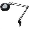"""Ledu 40"""" Arm Economy Magnifier Lamp - 22 W Fluorescent Bulb - Black"""