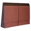 "Expanding Wallet - Legal - 8 1/2"" x 14"" Sheet Size - 5 1/4"" Expansion - Redrope - Red - Recycled - 1 Each"