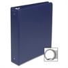 """SKILCRAFT 3 Ring Binder - 2"""" Binder Capacity - Letter - 8 1/2"""" x 11"""" Sheet Size - 3 x Ring Fastener(s) - Inside Front & Back Pocket(s) - Vinyl - Blue - 1 Each"""