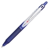 Vball RT Retractable Rolling Ball Pens - Extra Fine Point Type - 0.5 mm Point Size - Refillable - Blue - Blue Barrel - 1 Each