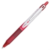 Vball RT Retractable Rolling Ball Pens - Fine Point Type - 0.5 mm Point Size - Refillable - Red - Red Barrel - 1 Each