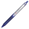 Vball RT Retractable Rolling Ball Pens - Fine Point Type - 0.7 mm Point Size - Refillable - Blue - Blue Barrel - 1 Each