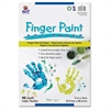 "Pacon Fingerpaint Paper - 50 Sheets - 11"" x 16"" - White Paper - 50 / Pack"