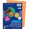 "SunWorks Construction Paper - 9"" x 12"" - 50 / Pack - Yellow-orange"