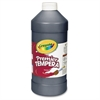 Crayola 32 oz. Premier Tempera Paint - 2 lb - 1 Each - Black