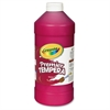 Crayola 32 oz. Premier Tempera Paint - 2 lb - 1 Each - Red