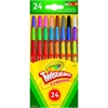 Crayola Mini Twistables Crayons - Clear - 24 / Pack