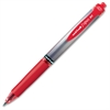 Uni-Ball Signo Rollerball Pen - Medium Point Type - 0.7 mm Point Size - Refillable - Red Gel-based Ink - Red Metal Barrel - 1 Each
