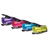 "inJOY 12 Nano Stapler - 12 Sheets Capacity - Mini - 1/4"" Staple Size - Assorted, Translucent"