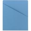 "Smead Colored Slash Jackets - Letter - 8.5"" x 11"" - 20 / Box - 11pt. - Blue"