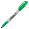 Sharpie Pen-style Permanent Marker - Fine Point Type - Green Alcohol Based Ink - 1 Each