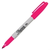 Sharpie Pen-style Permanent Marker - Fine Point Type - Magenta Alcohol Based Ink - 1 Each