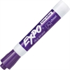 Expo Low Odor Chisel Tip Dry-erase Marker - Chisel Point Style - Purple - 1 Dozen