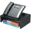 "Fellowes Designer Suites™ Phone Stand - 4.4"" Height x 13"" Width x 9.1"" Depth - Pearl, Black"
