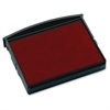 "COSCO 2400 Self-Inking Daters Replacmnt Ink Pads - 1 Each - 1.8"" Height x 1.9"" Width - Red Ink"