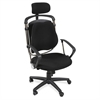 "Posture Perfect Executive Chair - Foam, Fabric Seat - Foam Back - 5-star Base - Black - 26"" Width x 21"" Depth x 44"" Height"