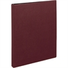 "Avery Ring Binder - 1/2"" Binder Capacity - 5 1/2"" x 8 1/2"" Sheet Size - 120 Sheet Capacity - 3 x Slant D-Ring Fastener(s) - 2 Internal Pocket(s) - Poly - Maroon - Recycled - 1 Each"