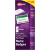 Avery Top-Loading Pin Style Name Badge Kit