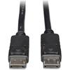 Tripp Lite 15ft DisplayPort Cable with Latches Video / Audio DP 4K x 2K M/M - (M/M) 15-ft.