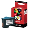 Lexmark Tri-color Ink Cartridge - Inkjet - Standard Yield - 450 Page - 1 Each