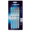 Uni-Ball Vision Elite Rollerball Pens - Bold Point Type - 0.8 mm Point Size - Refillable - Assorted Gel-based Ink - 4 / Pack