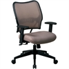 "Office Star Space VeraFlex Series Task Chair - Fabric Latte Seat - Fabric Back - 5-star Base - Latte - 19.50"" Seat Width x 20"" Seat Depth - 27"" Width x 26.5"" Depth x 40"" Height"